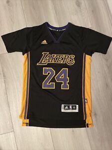 Kobe Bryant Hollywood Nights Adidas Swingman Jersey Sleeved Los Angeles Lakers