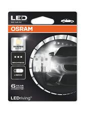 Osram W5W T10 LED 4000K Bombillas LED Blanco Cálido Coche Twin Pack 2850WW-02B