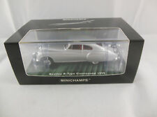 Minichamps 436 139421 1955 Bentley R Type Continental in Silver Ltd Ed 1 of 2208