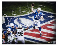 "ANDREW LUCK Autographed Colts 16"" x 20"" ""NFL"" Photograph PANINI LE 4/25"
