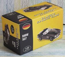 Atlas Editions BMW 507 black, Mint 1:43 Classic Sports Cars Germany