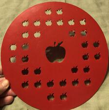 Pie Crust Cutter Apple Design