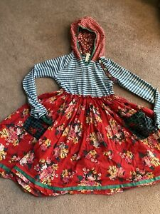 Girls Matilda Jane Choose you own path A Merry Day Chrissy Dress Size 10