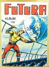 FUTURA reliure éditeur N° 9 comprenant les numéros 30 à 33 inclus.Chez LUG 1975