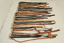 Lot Leather Belts Collection for Resale Wholesale Used Raw Premium Accessories