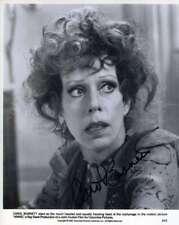 Carol Burnette Jsa Coa Hand Signed 8x10 Photo Autograph
