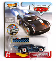 Disney Pixar Cars Rocket Racing Jackson Storm with Blast Wall, NEW