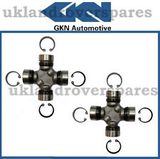 LAND ROVER DISCOVERY 1 GKN PROPSHAFT UJ UNIVERSAL JOINTS PAIR - NEW - OEM