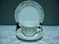 Vintage Royal Doulton Bone China Trio - Sudbury - Cup Saucer Plate - High Tea
