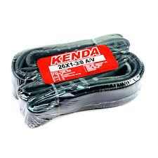x2 KENDA 26x1-3/8 A/V Schrader/American Valve MTB Bike Inner Tubes Tyres Tires