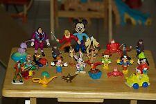 28 Vintage Disney Character Figure Lot 80's 90's make great Cake Topper