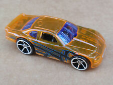 2011 Hot Wheels STOCKAR from Wall Tracks LOOSE Clear Orange