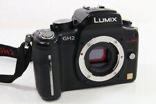 Panasonic Lumix DMC-GH2 Body, sehr guter Zustand, nur englisch