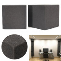 2Pcs Soundproof Studio Acoustic Corner Cube Bass Trap Foam C