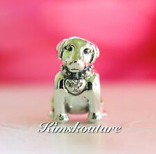 Authentic Pandora Labrador Dog Sterling Silver Bead Charm 791379CZ