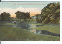 CG-080 MA, Framingham, Frost Bridge, Sudbury River Divided Back Postcard