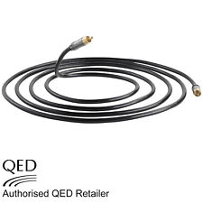 QED Performance SUBWOOFER Shielded Phono RCA to RCA Cable 3.0m