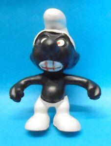 20007 WÜTENDER schwarzer Schlumpf Nr. 1 Schleich kleine Form