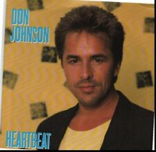 DON JOHNSON HEARTBEAT/CAN'T TAKE YOUR MEMORY 45RPM  W/PIC SLEEVE
