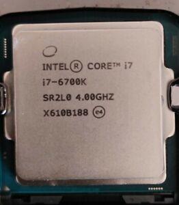 intel core i7-6700K Skylake Processor