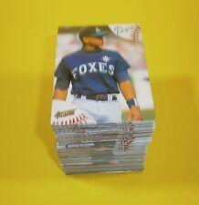 1994 Action Packed Minors Baseball complete base set 72 cards - Michael Jordan