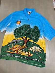 Vintage Original Mambo Loud Shirt L-XL, Mombassa Interstellar 90s Australia