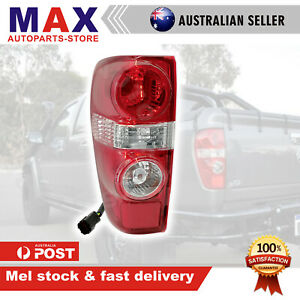 TAIL LIGHT LAMP FOR HOLDEN COLORADO RC CREW/SPACE CAB 2008 - 2012 LEFT SIDE LH