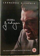 J. Edgar (DVD, 2012) STARRING LEONARDO DICAPRIO