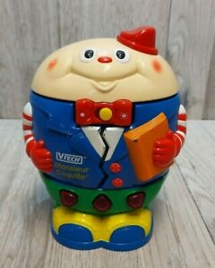 Vintage Rare Vtech Monsieur Coquille French Edition Humpty Dumpty Preschool