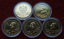 POLAND SET OF COINS 2 ZL ANIMALS GREY SEAL 2007 YEAR ONE PIECE LOT 1 PC CAPSULE