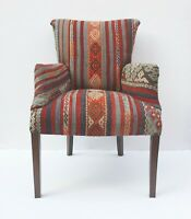 Comfortable kilim Armchair,Kilim Upholstery Furnitures,kilim cover Furnitures.
