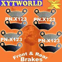FRONT REAR Brake Pads POLARIS ATV 500 ATP H0 4x4 2004 2005