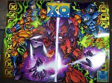 "1995 Acclaim X-O MANOWAR 19"" x 25"" promo poster"