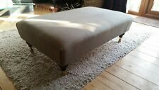 New  Large Footstool come Coffee Table made In Your Own Fabric