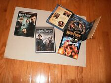 LOT  3 HARRY POTTER DVD's incl. GOBLET OF FIRE, ORDER OF PHOENIX, SORCER'S STONE