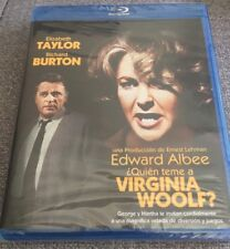 QUIEN TEME A VIRGINA WOOLF - 1 BLURAY ZONA B - 131 MIN NEW SEALED NUEVA EMBALADA
