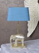 Tischlampe Elefant Gold Tischleuchte Leselampe Leuchte Nachttischlampe 67cm