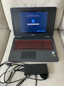 HP Omen Gaming Laptop, Core i7-7700HQ Processor, 12GB RAM Upgrade, GTX 1050 GPU