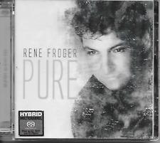 RENE FROGER - Pure (SACD) CD Album 12TR Holland 2004 (Dino Music)