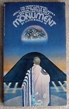 Monument by Lloyd Biggle Jr. PB 1st Bantam 02877 - Lost Eden frightening future
