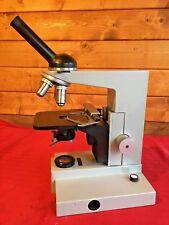 Leitz Sm-Lux Microscopio Compuesto vertical (restaurada)