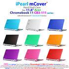 "NEW iPearl mCover® Hard Shell Case for 11.6"" Acer Chromebook 11 CB3-111 Laptop"