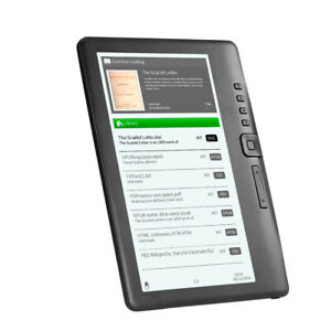 BK7019 Portable e-Book Reader 8GB 7inch Multifunction E-Reader Backlight E0W5