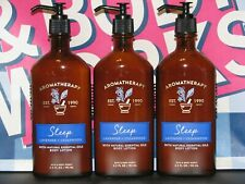 1-3 Bath Body Works Aromatherapy Sleep-Lavender Cedarwood Lotion Essential Oils