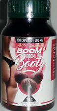 AGUAJE - BOOM BOOM BOOTY - MAGICAL BUTTOCK ENHANCEMENT 100 CAPS 500MG - TWO PACK