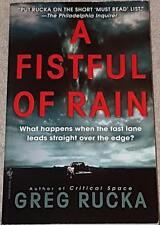 Greg Rucka A FISTFUL OF RAIN (paperback)