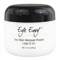 Eye Envy Tear Stain Remover Powder for Dogs and Cats All Natural Eye Care 2 oz