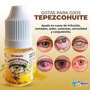 Gotas de Tepezcohuite para limpiar y curar tus ojos - Natural de México