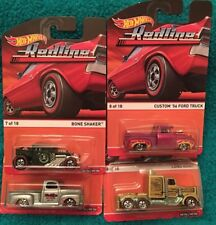 2015 Hot Wheels Red Line  Long Gone 49 Ford F1 Bone Shaker Custom 56 Ford Truck