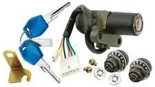 V PARTS Juego kit cerraduras llaves cerrajas   DERBI SENDA R 50 (2000-2001)